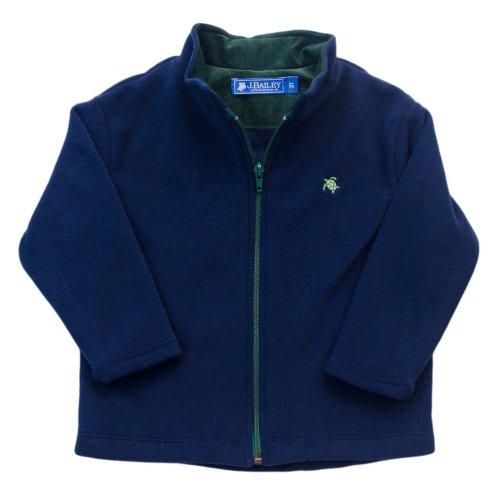 J. Bailey Boy'S Navy Fleece Jacket 2T
