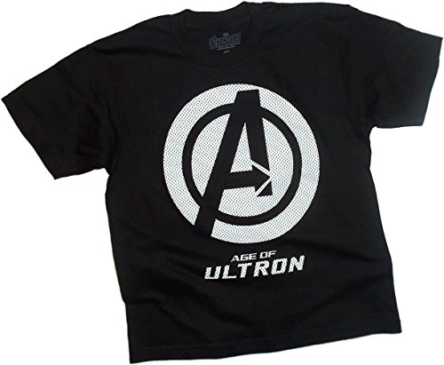 Movie Logo Mesh Print -- Avengers: Age Of Ultron Youth T-Shirt