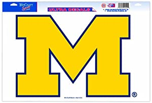 Buy NCAA Michigan Wolverines 11-by-17 Ultra Decal by WinCraft