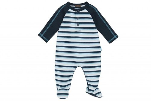 Rabbit Moon Baby Boys' Emperor Stripe Rib Knit