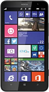 Nokia Lumia 1320 Smartphone (15,2 cm (6 Zoll) LCD-Display, Qualcomm Snapdragon S4, 1,7GHz, 1GB RAM, 5 Megapixel Kamera, Bluetooth 4.0, USB 2.0) schwarz