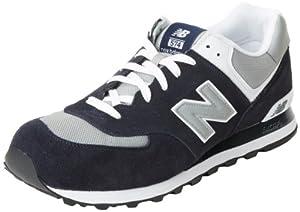 New Balance Men's ML574 Lifestyle Sneaker,Navy/Grey,7.5 D US