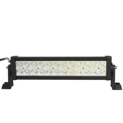 4800Lm Led Lights Bar For Trucks & Suvs - 72W Flood Beam Off-Road Lighting Dc 10-30V 13.5 Inch