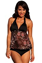 UjENA Rio Riviera Tankini Swimsuit Beachwear Top Only