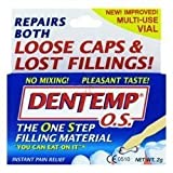 THREE PACKS of Dentemp One Step Temp Filling Cement