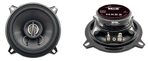 Lanzar MX52 Max Series 5.25-Inch 140-Watt 2-Way Coaxial Speakers (Pair) (Grill Car Mercury compare prices)