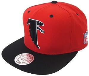 Atlanta Falcons Mitchell & Ness Logo Snapback Cap Hat by Mitchell & Ness