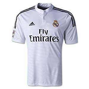 adidas Real Madrid Home Soccer Jersey 2014/2015 White (Large)