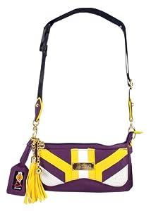 NBA Los Angeles Lakers Suite Team Cross-Body Bag, Purple by Littlearth
