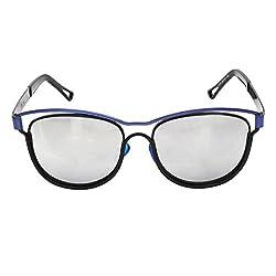 Zins Silver Panto Sunglasses ( ZS 1078 C1 )