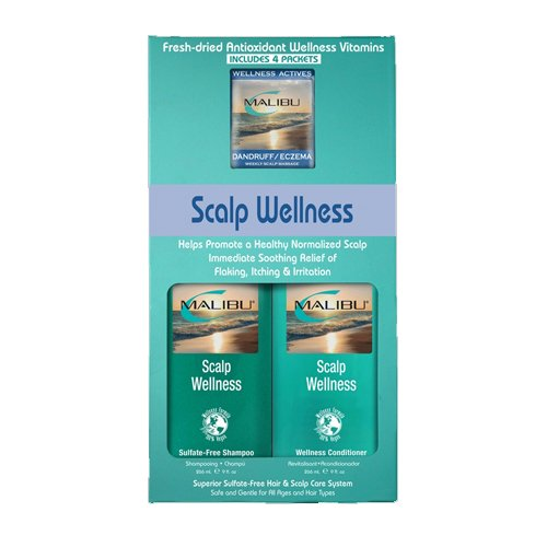 Malibu Hair Care Scalp Wellness System Kit