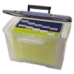 STX61511U01C - Storex Portable File Box