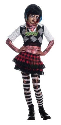 Girl Zombie Punk Rocker #1 Costume