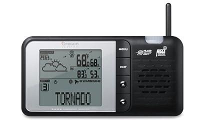 Oregon Scientific WR606 NOAA Desktop Weather Station from Oregon Scientific