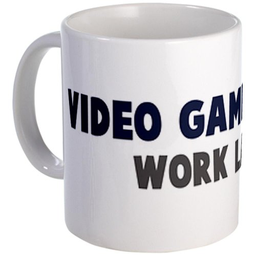 Cafepress Video Games First Mug - Standard