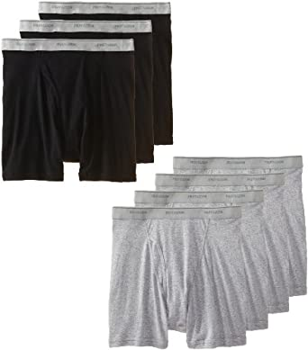 Low Price Fruit of the Loom Men's 7 pack boxer brief