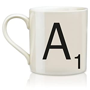 Scrabble Mug - Letter A