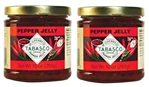 Tabasco Spicy Pepper Jelly (10 oz Jars) 2 Pack