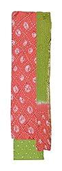 Ms Bandhani Women's Cotton Unstitched Dress Material (Multicolor )