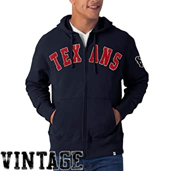 NFL Houston Texans Mens Striker Full Zip Jacket by