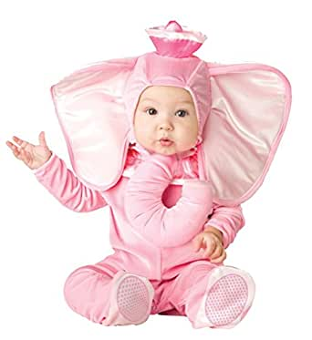 In Character Costumes - Pink Elephant Infant / Toddler Costume - 18 Months/2T