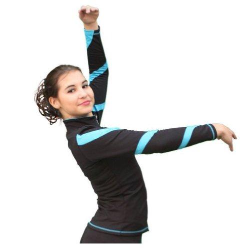 Figure Skating Chloe Noel J36 Spiral Skate Jacket w/ Crystals grandville noel