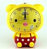 Students alarm mute children creative cute cartoon voice talking alarm clock lazy pig Kids Bedside Sleep Trainer