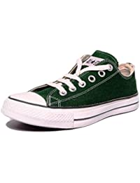 Converse Unisex 0104192G Green Canvas Casual Shoes