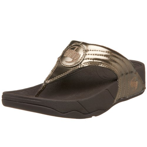 FitFlop Women's Walkstar 3 Sandal,Bronze,9 M US