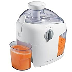 New Hamilton Beach 2 Speed Juice Extractor Durable Stainless Steel Cutter/Strainer And Safety Latch