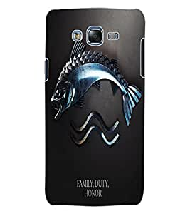 ColourCraft Quote Design Back Case Cover for SAMSUNG GALAXY J7