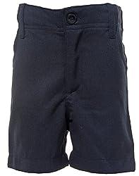 Babeezworld Boys' Shorts (maroon Style)-5 Year