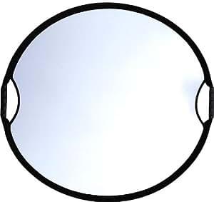 Sunbouncer Sun-Mover Zick-Zack silber/weiß - Rückseite weiß (nahtlos)
