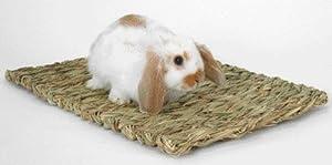 Peter's Woven Grass Mat for Rabbits