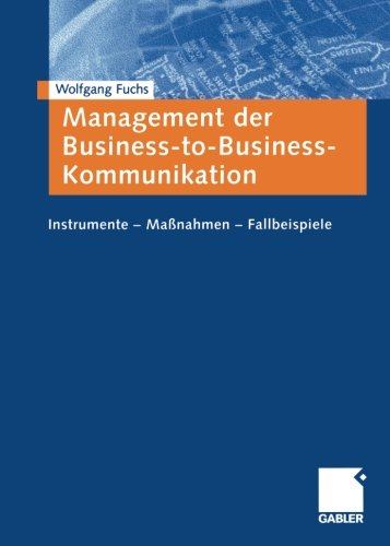 Management der Business-to-Business-Kommunikation