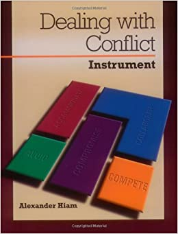 Conflict Management & Dealing with Conflict