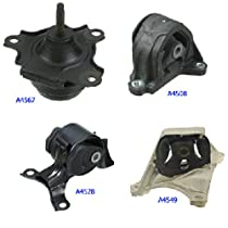 Honda Civic 2.0 for Manual 2002-2006 for Acura RSX Engine /& Trans Mount 4PCS