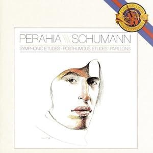 Schumann: Symphoniques, Op.13 / Posthumous Etudes / Papillons, Op.2 ~ Perahia
