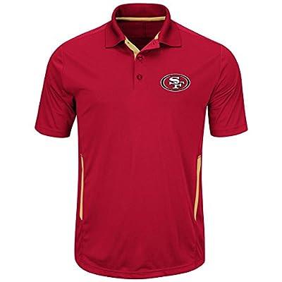 San Francisco 49ers Mens Cardinal Field Classic II Synthetic Polo Shirt