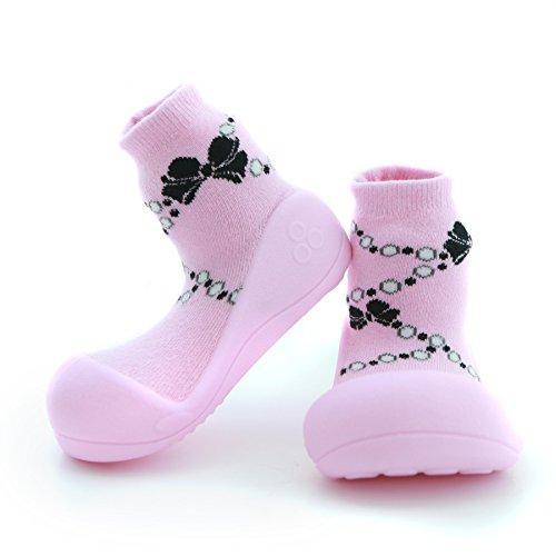Attipas French Pearl Pink - 21.5 Scarpe primi passi bambini Bambine e bambini, Anti-scivolo, ergonomica