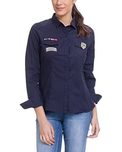 Tantra Camisa Mujer Military With Stickers