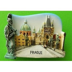 Amazon.com: Charles Bridge Prague City of the Czech Republic Europe