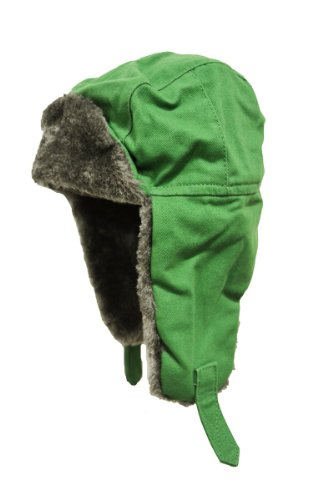 Product Name: John Deere Green Toddler Trapper Winter Hat (2T/3T)