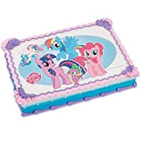 My Little Pony Edible Image Icing Art Cake Topper