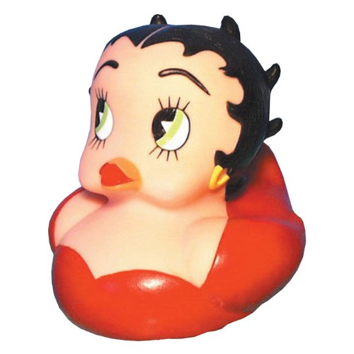 CelebriDucks Betty Boop RUBBER DUCK Bath Toy - 1