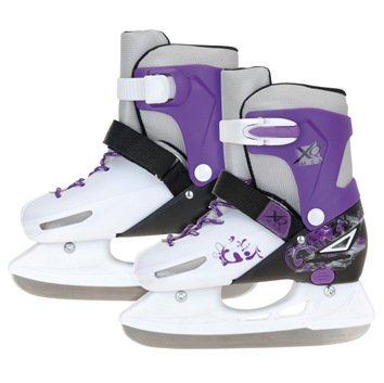 XQ Max Girl's Small Ice Skates