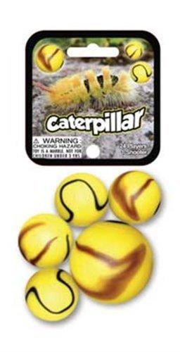 Glass Mega Marbles Caterpillar Game Net Set (25 Piece) - 1