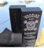 Voodoo Bamboo Charcoal Shampoo Bar From Australia with Organic Leatherwood Honey 100% Natural. 4.4 Oz No Plastic Bottles