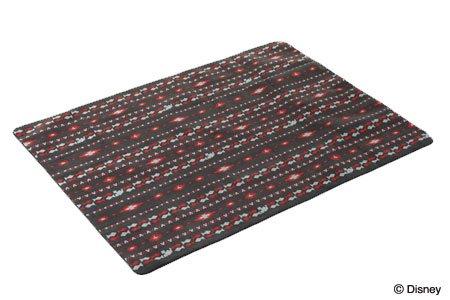 ロゴス ミッキーマウス バッグインアルミフリースラグ(200×150cm)