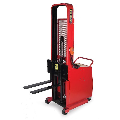 "Wesco Battery-Powered Counterweight Lift Trucks: Powered Lift - 1"" To 64"" Lift Height - Power Lift With Power Drive"